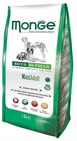 Monge Daily Line Adult Maxi Breed Chicken сухой корм для взрослых собак крупных пород с курицей