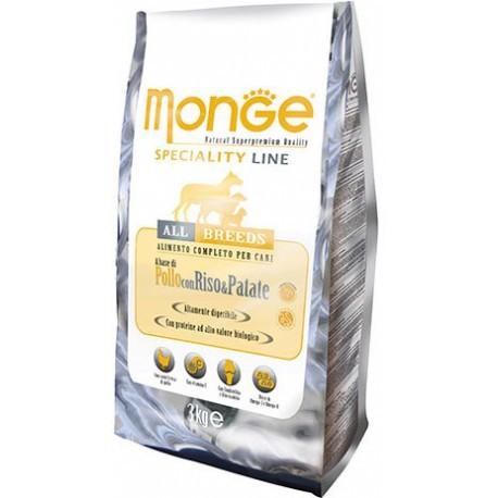 Monge Speciality Line Adult All Breeds Chicken сухой корм для взрослых собак всех пород с курицей