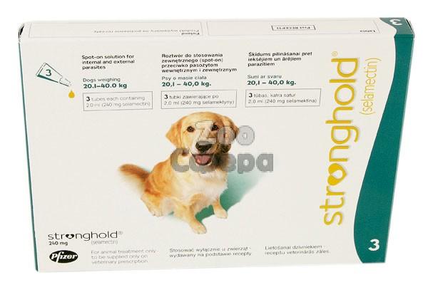 Stronghold Стронгхолд капли для собак от 20 до 40 кг от внешних паразитов 1 пипетка
