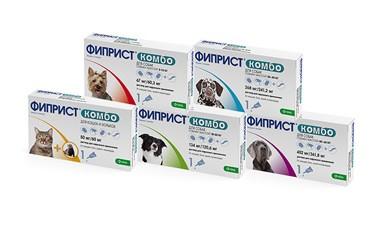 Фиприст Комбо капли для собак от 10 до 20 кг от внешних паразитов 1 пипетка