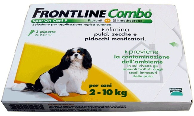 Frontline Combo капли для собак от 2 до 10 кг от внешних паразитов 1 пипетка