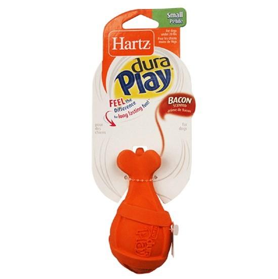 Hartz Dura Play ракета для собак мелких пород с запахом бекона, латекс с наполнителем H14805
