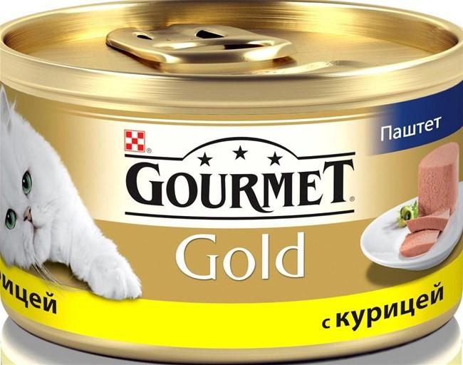 Gourmet Gold консервы для кошек всех возрастов с курицей 85г