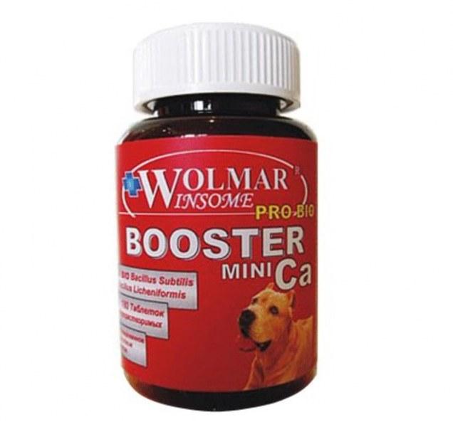 WOLMAR Pro Bio Booster Ca Mini 180таб., поливитамины для собак мелких пород с кальцием
