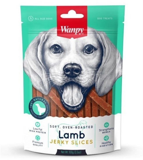 Wanpy Dog соломка из мяса ягненка, 100 гр