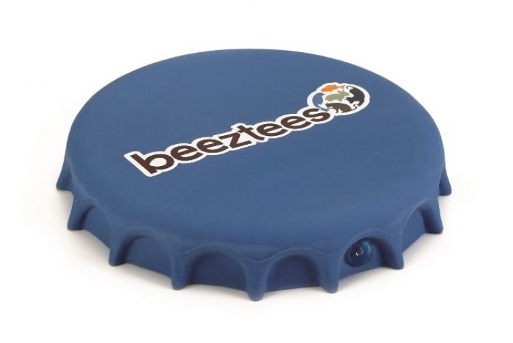 Бизтиз 621151 Игрушка д/собак Фрисби-крышка от бутылки 24см синяя