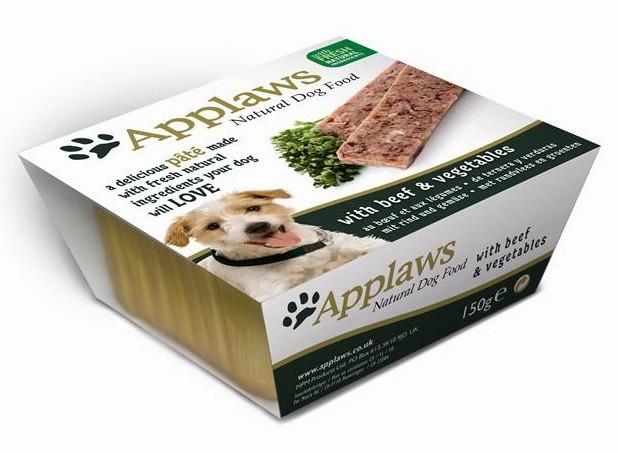 Applaws ламистер для собак всех возрастов и пород с говядиной 150гр