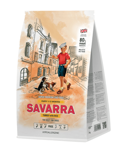 SAVARRA Puppy All Breeds сухой корм для щенков всех пород