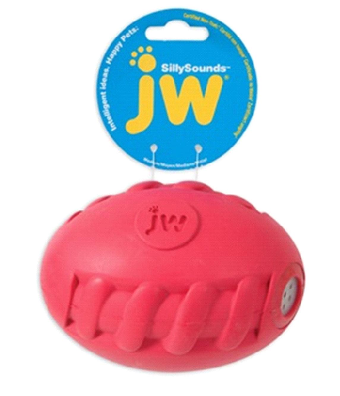Игрушка д/собак Футбольный мяч с пищалкой, каучук, средняя