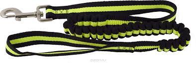 Каскад Поводок нейлон с буферной резинкой 25мм*90-120см зеленый