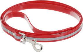 Каскад Поводок светоотражающий 20мм*180см красный нейлон