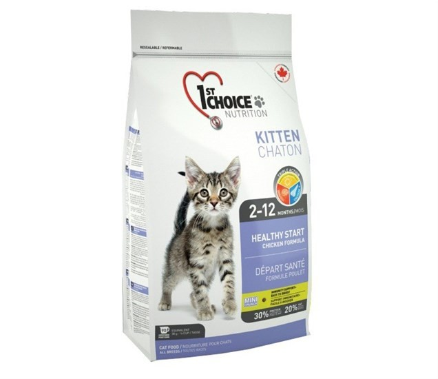 1st Choice Kitten Chicken сухой корм для котят с курицей