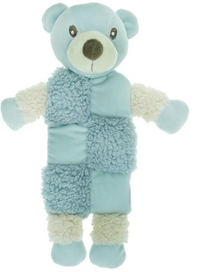 """Aromadog игрушка для собак """"Мишка"""" с 3 пищалками, голубой"""