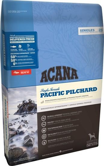 ACANA Singles Pacific Pilchard сухой корм для собак всех пород и возрастов с тихоокеанской сардиной