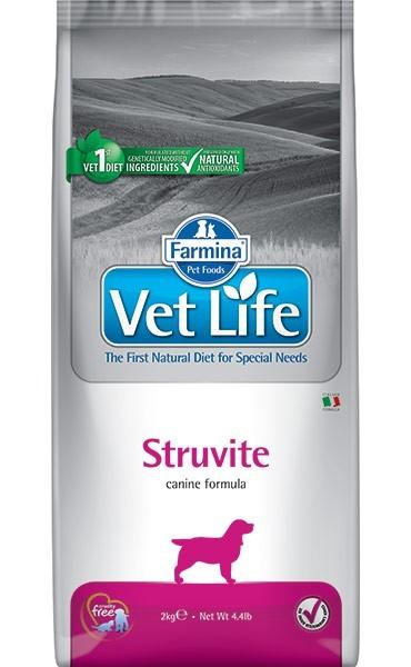 Farmina Vet Life Struvite диетический сухой корм для собак при МКБ 2 кг