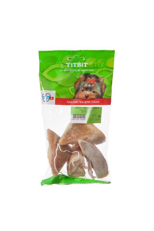 TiTBiT лакомство Копыто мясное говяжье - мягкая упаковка