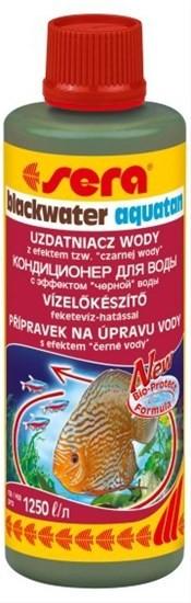 """Sera BLACKWATER AQUATAN кондиционер для воды с эффектом """"черной"""" воды, 100 мл"""