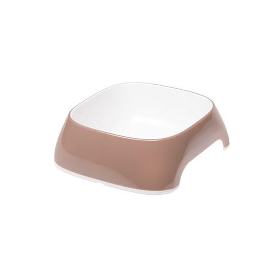 Миска GLAM SMALL пластиковая, 400 мл, фиолетовая