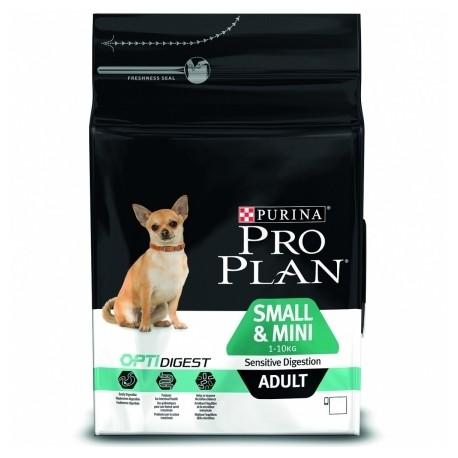 Промопак 2,5кг+500гр Purina Pro Plan Optidigest Adult Small&Mini Breeds сухой корм для взрослых собак мелких пород с ягненком