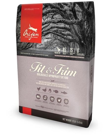 Orijen Fit&Trim облегченный сухой корм для кошек всех возрастов