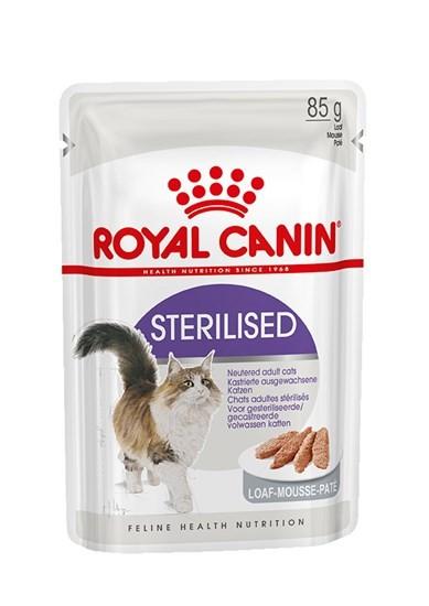 Royal Canin Sterilised пауч для стерилизованных кошек всех возрастов паштет 85г
