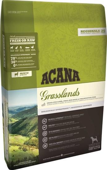 ACANA Regionals Grasslands сухой корм для собак всех пород и возрастов с ягненком