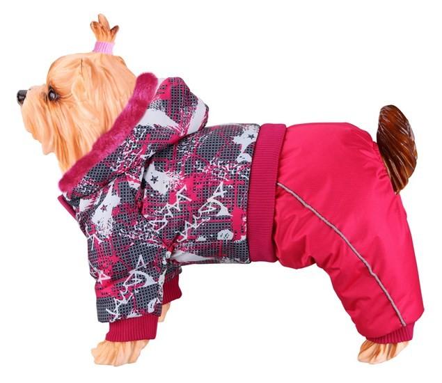 Комбинезон DEZZIE для собак, полиэстер, синтепон