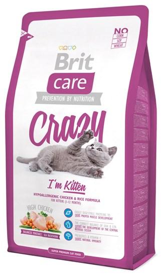 Brit Care Kitten Crazy сухой корм для котят с курицей