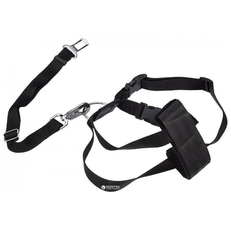 Трикси Автомобильный ремень безопасности со шлейкой д/собак 20-50см
