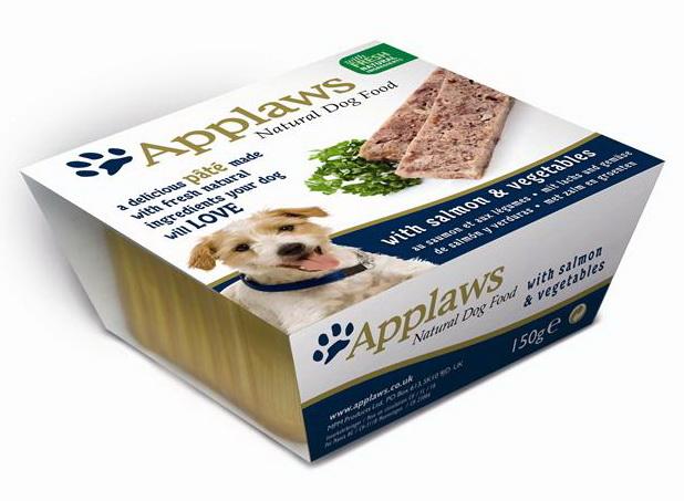 Applaws ламистер для собак всех возрастов и пород с лососем 150г