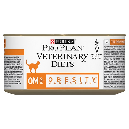 Purina Pro Plan Veterinary Diets OM Obesity Management консервы для кошек при ожирении