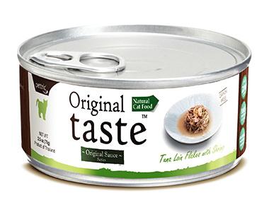 Pettric Original Taste консервы для кошек всех возрастов с тунцом и креветкой 70г