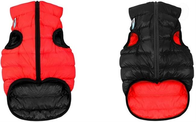 AiryVest жилетка двусторонняя для собак красно-черная, L (55 см)