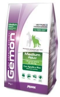 Gemon Adult Medium Breed Lamb сухой корм для взрослых собак средних пород с ягненком