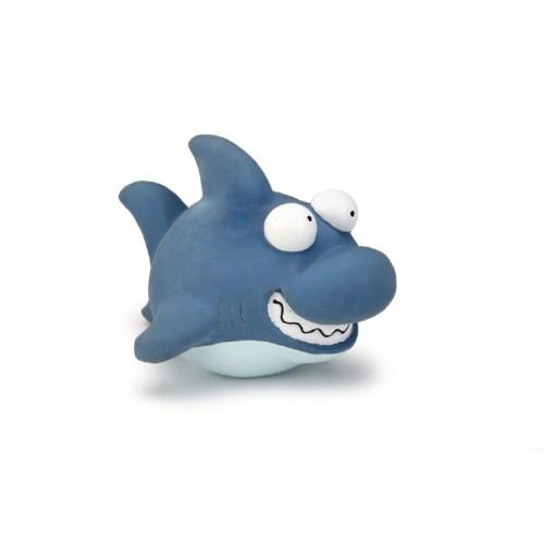 """Beeztees игрушка для собак """"Акула"""" синяя, латекс"""