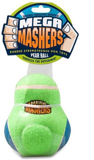 R2P Игрушка для собак Mega Masher Кегля, вспененная резина с покрытием теннисного мяча