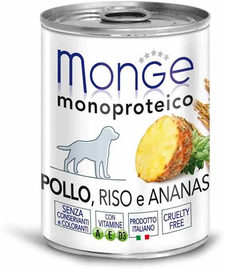 Monge Monoproteico Fruit консервы для собак всех возрастов и пород с курицей 400г