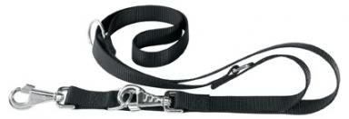 Поводок-перестежка CLUB, GA25/200, черный
