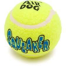 Игрушка для собак Эйр мячик теннисный, очень большой (10 см)