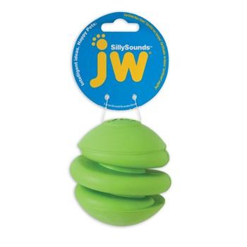 Игрушка д/собак Спиральный мяч с пищалкой, каучук, большая