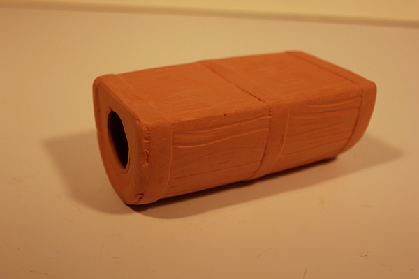 Грот-укрытие Полбочки коричневый/черный