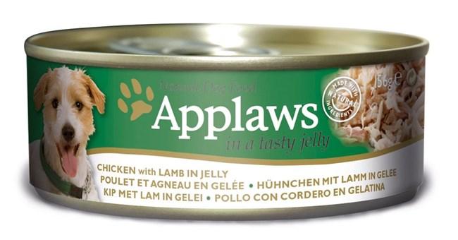 Applaws консервы для собак всех возрастов и пород с курицей и ягненком 156г
