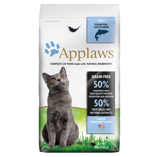 Applaws Grain Free Adult Ocean Fish беззерновой сухой корм для взрослых кошек с рыбой