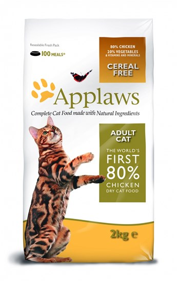 Applaws Adult Chicken сухой корм для взрослых кошек с курицей