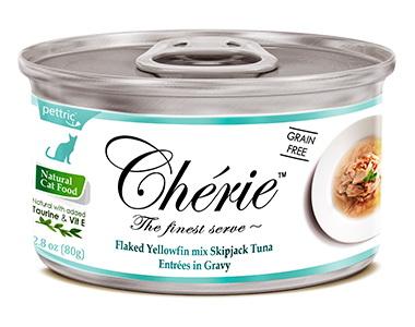 Pettric Cherie консервы для кошек всех возрастов с тунцом в подливе 80гр
