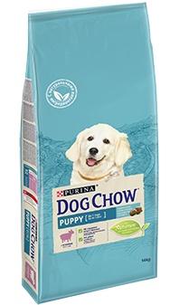 Dog Chow Puppy Lamb сухой корм для щенков всех пород с ягненком