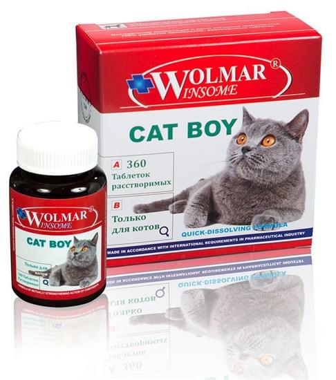 Wolmar Winsome Cat Boy в таб., мультикомплекс для взрослых котов