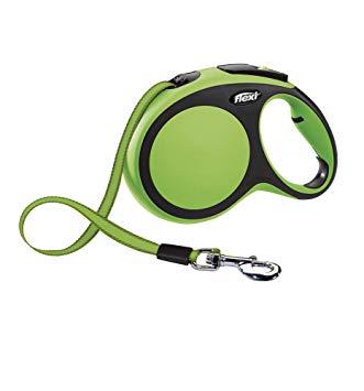 Flexi New Comfort tape 3м размер XS до 12кг цвет зеленый