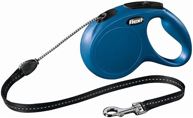 Flexi New Classic cord Поводок-рулетка 8м размер S до 12кг