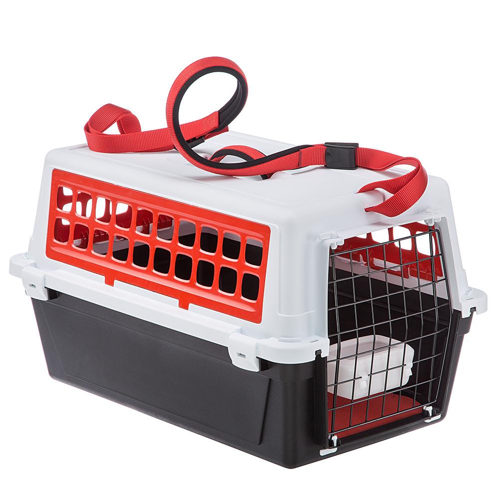 Ferplast ATLAS 20 TRENDY Plus контейнер-переноска для животных до 8кг 58*37*32см красный